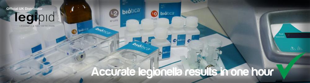 1 hour Legionella testing